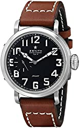 Zenith Men's 031930681.21C Pilot Analog Display Swiss Automatic Brown Watch