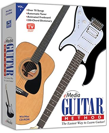 eMedia Guitar Method Version 3 (Vol 1) [OLDER VERSION]