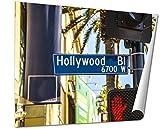 Ashley Giclee Street Sign Hollywood Boulevard In Hollywood, 20x25 Print