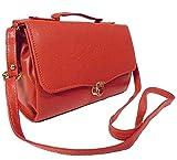 Chalissa Women's Sling Bag (Dark Orange, Box Sling)