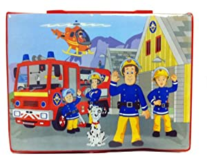 sambro fireman sam malette de coloriage sam le pompier 53 pi ces import royaume uni. Black Bedroom Furniture Sets. Home Design Ideas