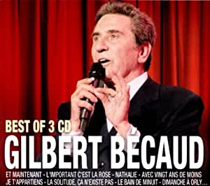 Best of 3 CD Gilbert Becaud