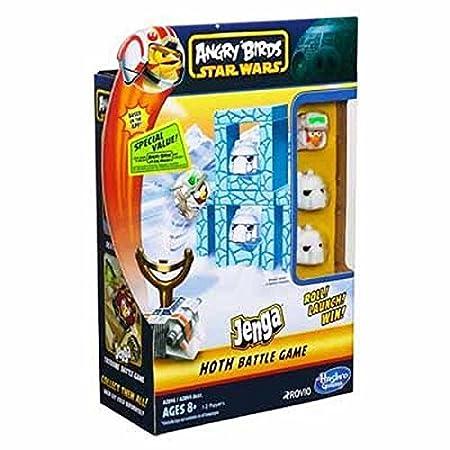 Hasbro - A2846 - Angry Birds Star Wars - Jenga - Hoth (Import Royaume-Uni)