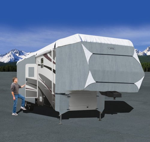 Poly Pro® III Deluxe 5th Wheel RV Cover, MODEL 1