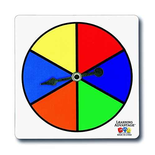 learning-advantage-7354-six-color-spinners-pack-of-5