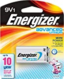 Energizer LA522SBP 9V Lithium Battery for Smoke Detectors