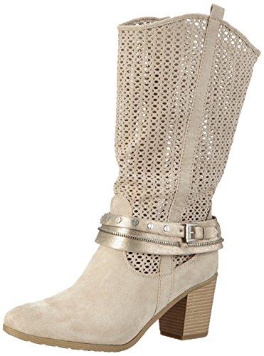 Marco Tozzi25313 - Stivali classici imbottiti a mezza gamba Donna , Beige (Beige (DUNE 405)), 39