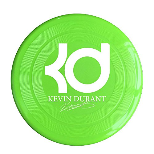 YQUE56 Unisex 35# Basketball Player Kevin KD Durant Outdoor Game, Sport, Flying Discs,Game Room, Light Up Flying, Sport Disc ,Flyer Frisbee,Ultra Star KellyGreen One Size