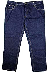 Member's Mark Mens Straight Fit Jeans 44x32 Deep Indigo