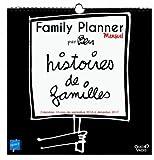 Quo Vadis Ben Family Planner Mensuel Calendrier Année 2016-2017 30 x 30 cm Noir...