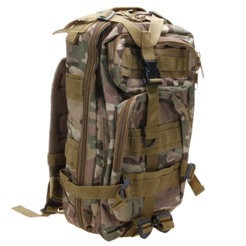 Z ZTDM Outdoor Tactical Molle Backpack Military Rucksacks for Camping Hiking Trekking Waterproof 30L Camo (Backpacks Good For Back compare prices)