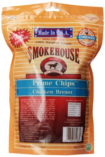 Smokehouse  Chicken Natural Prime Chips Chicken Dog Treats