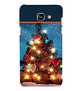 printtech Christmas Tree Hearts Back Case Cover for Samsung Galaxy A5 (2016) :: Samsung Galaxy A5 (2016) Duos with dual-SIM card slots