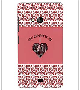 PrintDhaba Quote D-4150 Back Case Cover for MICROSOFT LUMIA 540 (Multi-Coloured)