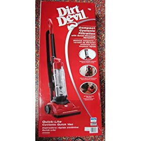Dirt Devil UD20020 Upright Bagless Quick-lite Cyclonic Vacuum