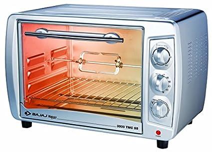 Bajaj 3500 TMCSS 35 Litre Oven Toaster Griller