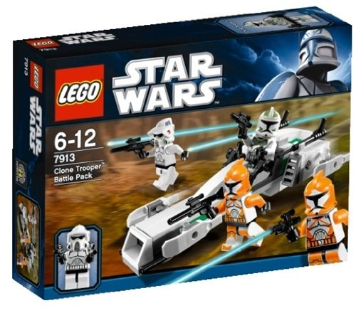 LEGO Star Wars 7913 : Clone Trooper Battle Pack