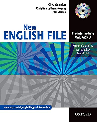 New English File Pre-Intermediate: MultiPACK a: Multipack A (Student's Book and Workbook in One) Pre-intermediate lev (New English File Second Edition)