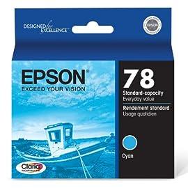 Epson 78 Cyan Hi-Definition OEM Genuine Inkjet/Ink Cartridge
