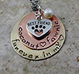Furever In My Heart Pet Remembrance Necklace Hand Stamped