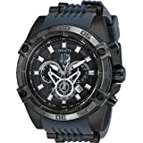 Invicta Marvel 52mm Bolt Viper Limited Edition BLACK PANTHER Chronograph Black Dial Watch (Color: Black)