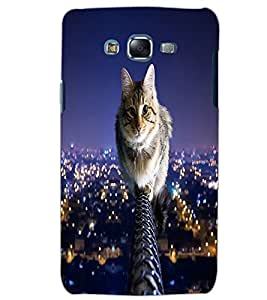 SAMSUNG GALAXY J5 CAT Back Cover by PRINTSWAG