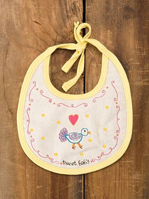 Tweet Baby Baby Bib By Natural Life - 1