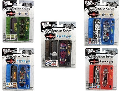 Tech Deck 96mm Competition Series Single Set (Styles and Colors Vary)
