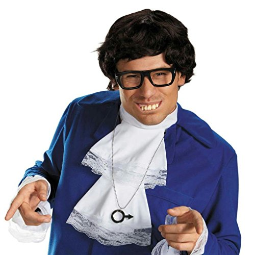 Popcandy Austin Powers Deluxe Accessory Costume Kit (Austin Powers Deluxe Accessories Kit)