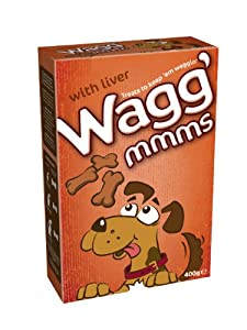 Wagg'mmms Dog Biscuits With Liver 400 g (Pack of 5)