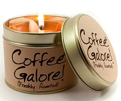 Lily Flame Scented Candle Tin - Coffee Galore