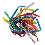 25 Bonfim Bänder, verschiedene Farben