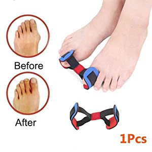 Bunion Corrector and Bunion Relief Protector Sleeves Kit, 9 PCS Bunion Cusions Treat Pain in Hallux Valgus, Big Toe Joint, Hammer Toe, Toe Separators