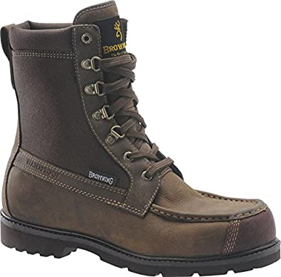 ... BR20105 8 inch Featherweight Moc Toe Boots, CORK HARNESS, 14W(EE Irish Setter Upland Boots