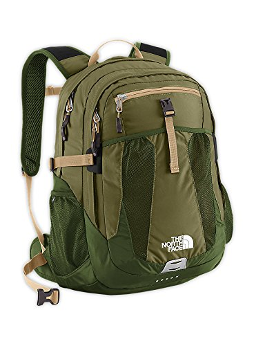 The North Face Recon Hiking Backpack (Burnt Olive Green/Military Green)