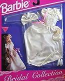 Barbie Bridal Collection Fashions - Wedding Gown Set (1992 Arcotoys, Mattel)