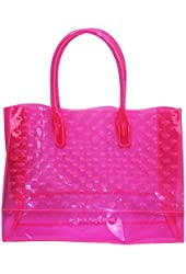 Juicy Couture Crown Perforated Beach Tote