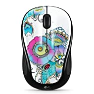Logitech M325 Wireless Mouse With Designed-For-Web Scrolling - Lady On The Lily (910-003684)