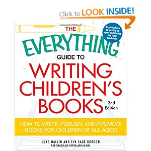 Image: Cover of The Everything Guide to Writing Children's Books by Luke Wallin and Eva Gordon