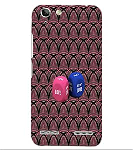 PrintDhaba Love Dice D-4573 Back Case Cover for LENOVO LEMON 3 (Multi-Coloured)