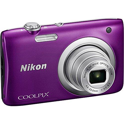 nikon-coolpix-a100-20mp-digital-camera-purple-international-model-no-warranty