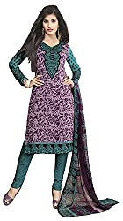 VSS Collections Women's Synthetic Unstitched Dress Material(1064,Multi-Color)