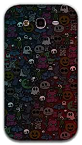 The Racoon Grip Halloween hard plastic printed back case / cover for Samsung Galaxy Grand Neo
