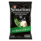 Walkers Sensations Crisps - Smoked Monterrey Chilli with Goats Cheese (175g)