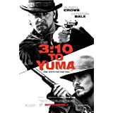 3:10 to yuma MOVIE POSTER 2 Sided ORIGINAL 27x40 RUSSELL CROWE CHRISTIAN BALE by Movie Poster Arena