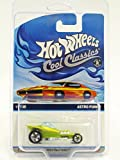 2014 Hot Wheels Cool Classics Astro Funk #17/30 (Spectrafrost Antifreeze) (Yellow Car Card) (RSW Wheels) in Protecto Pak