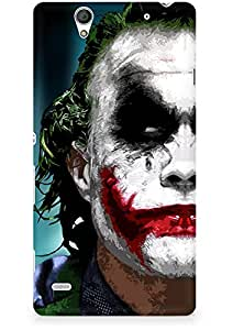 Amez designer printed 3d premium high quality back case cover for Sony Xperia C4 (The Joker)