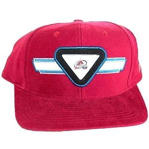Buy Colorado Avalanche Vintage Sports Specialties Cotton Adjustable Snap Maroon by NHL