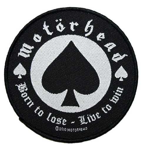 Motörhead Logo Born to Lose Patch Tessuto 9cm