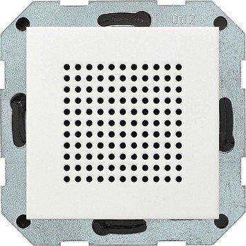 Gira-228203-Zusatz-Lautsprecher-zum-RDS-Radio-ST55-reinwei-glnzend